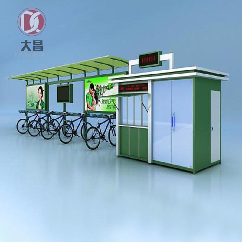 黑龙江自行车亭定做厂家